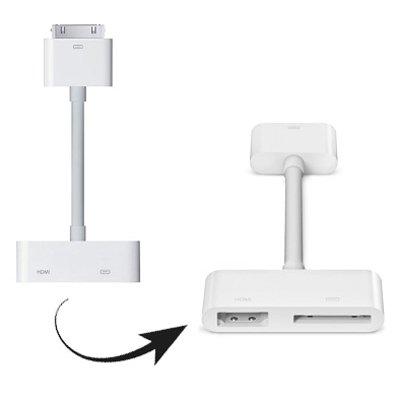 For iPad Digital AV HDMI Adapter to HDTV
