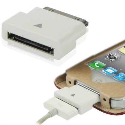 For iPad 30Pin Male to 30Pin Female Dock Extender