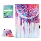 For Tab S2 9.7/T815 Dream Catcher Flip Leather Case with Holder, Card Slots & Wallet