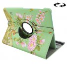 For Tab S2 8.0/T715 Magpie Pattern Leather Case with 360° Rotation Holder
