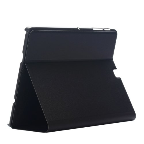 For Tab S2 8.0/T815 Black Frosted Texture Leather Case with Holder