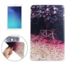 For Tab E 9.6 Flower Tree and Bicycle Pattern TPU Protective Case
