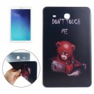 For Tab E 9.6 DONT TOUCH ME Pattern TPU Protective Case