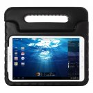 For Tab E 9.6 Black EVA Bumper Protective Case with Handle & Holder
