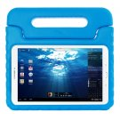 For Tab E 9.6 Blue EVA Bumper Protective Case with Handle & Holder