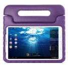 For Tab E 9.6 Purple EVA Bumper Protective Case with Handle & Holder