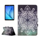 For Galaxy Tab E 9.6 Retro Pattern Flip Leather Case with Holder, Card Slots & Wallet