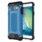For Galaxy A5(2016) Blue Tough Armor TPU + PC Combination Case