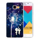 For Galaxy A5(2016) Dandelion Pattern Blu-ray Soft TPU Protective Case