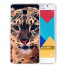 For Galaxy A5(2016) Tiger Pattern Blu-ray Soft TPU Protective Case