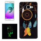 For Galaxy A5(2016) Noctilucent Wind Chimes Pattern IMD Soft TPU Back Cover Case