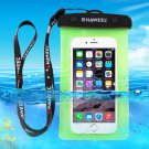 For Galaxy A5 & More HAWEEL Green Universal Waterproof Bag with Lanyard