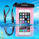 For Galaxy A5 & More HAWEEL Pink Universal Waterproof Bag with Lanyard