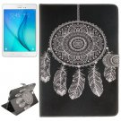 For Galaxy Tab A 9.7 Dreamcatcher Pattern Flip Leather Case with Holder, Card Slots & Wallet