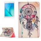 For Galaxy Tab A 9.7 Dreamcatcher Pattern Horizontal Flip Leather Case with Holder