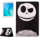 For Galaxy Tab A 9.7 Ghost Pattern Horizontal Flip Leather Case with Holder