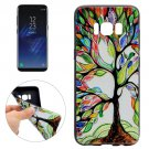 For Galaxy S8 Tree of Life Pattern Soft TPU Protective Case