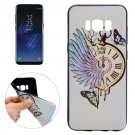 For Galaxy S8 Pocket Watch Pattern Soft TPU Protective Case