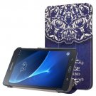 For Galaxy Tab A 7.0 Vintage Pattern Flip Leather Case with 3-folding Holder
