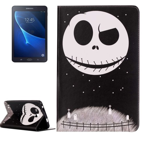 For Galaxy Tab A 7.0 Ghost Star Pattern Horizontal Flip Leather Case with Holder