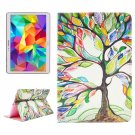 For Tab S 10.5 Tree Pattern 2 Side Print Leather Case with Holder, Card Slots & Wallet