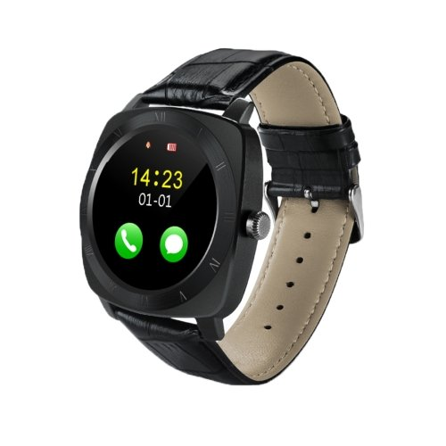 X3 1.33 inch Full IPS Round Touch Screen Bluetooth Smart Watch Phone - 3 colors