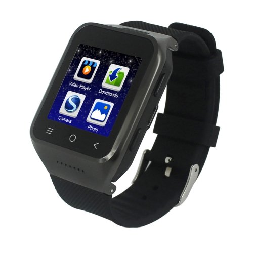 S8 1.54 inch Touch Screen Bluetooth 4.0 Android 4.4 Smart Watch - 3 colors