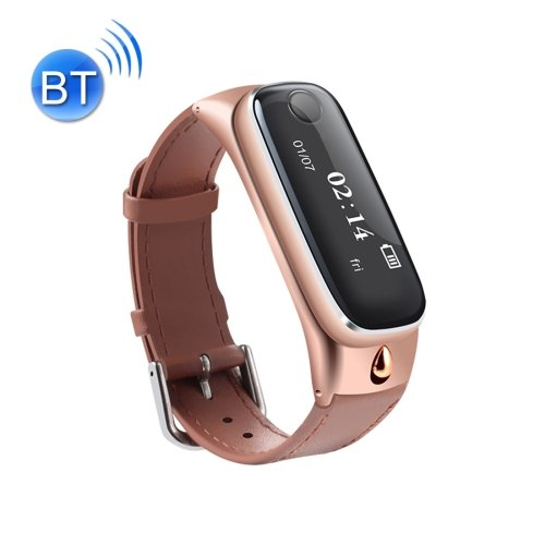 M6 0.91 inch Screen Bluetooth 4.0 Smart Bracelet with One Click to Talk... - 3 colors