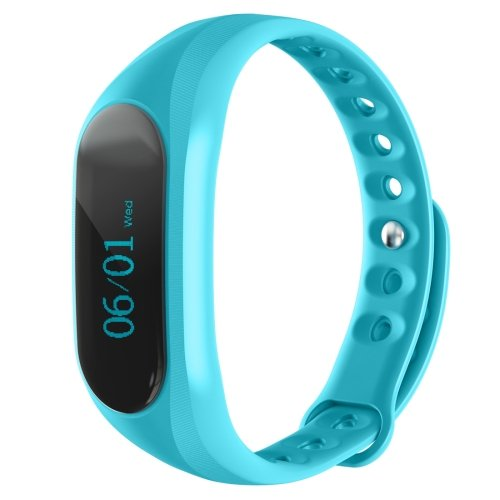 CUBOT V1 Touch Screen Bluetooth Life Waterproof Smart Wristband - 2 colors