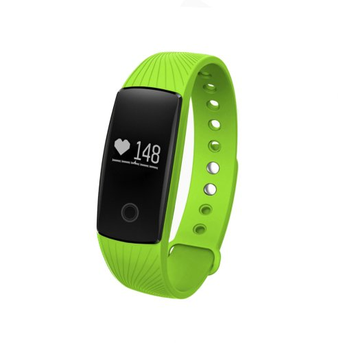 ID107HR Heart Rate Monitor Fitness Tracker Smart Wristband for iOS / Android - 5 colors