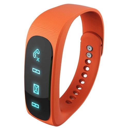 E02 Bluetooth 4.0 Smart Sports Bracelet , Support Camera Remote.. - 4 colors