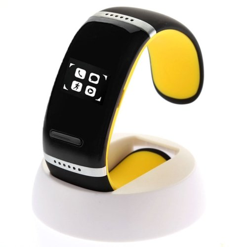 L12S OLED Bluetooth Wrist V3.0 Smart Touch Bracelet Watch for IOS iPhone / Android... - 5 colors