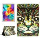For Tab S 10.5 Cat Pattern 2 Side Print Leather Case with Holder, Card Slots & Wallet