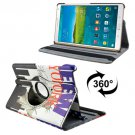 For Tab S 8.4/T700 Statue of Liberty Smart Cover Leather Case with Rotating Holder