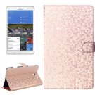 For Tab S 8.4/T700 Honeycomb Texture Flip Leather Case with Holder - # Colors