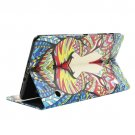 For Galaxy Tab S 8.4 Lion Pattern Cross Leather Case with Holder, Card Slots & Wallet