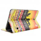 For Galaxy Tab S 8.4 MATATA Pattern Cross Leather Case with Holder, Card Slots & Wallet