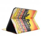 For Galaxy Tab 4 / 10.1 Hakuna Matata Pattern Leather Case with Holder, Card Slots & Wallet