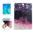 For Galaxy Tab 4 / 10.1 Bicycle Pattern TPU Protective Case