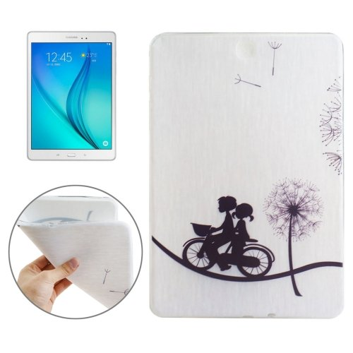For Galaxy Tab 4 / 10.1 Dandelion Couple Pattern TPU Protective Case