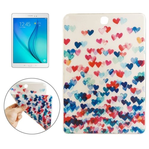 For Galaxy Tab 4 / 10.1 Love Heart Pattern TPU Protective Case