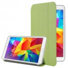 For Galaxy Tab 4 / 8.0 Frosted Flip Leather + Transparent Plastic Case with Holder - # Colors