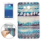 For Galaxy Tab 3 Lite 7.0 Drawing Pattern TPU Protective Case