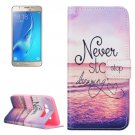 For Galaxy J5 (2016) Dreaming Pattern Leather Case with Holder, Card Slots & Wallet