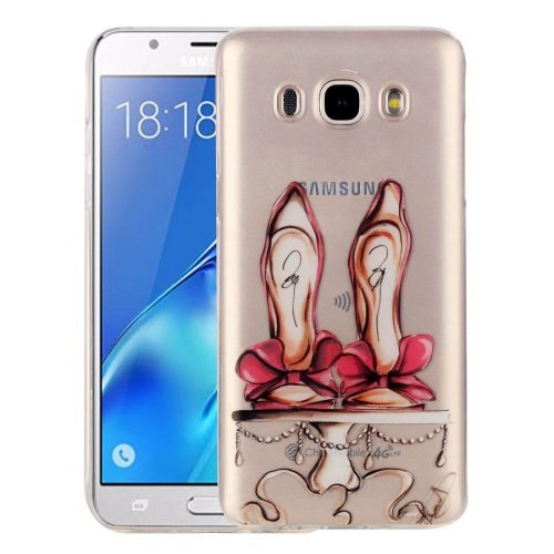 For Galaxy J5 (2016) Shoes Pattern IMD Workmanship Soft TPU Protective Case