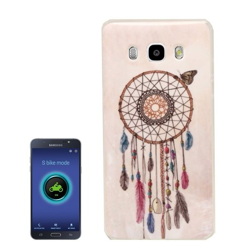 For Galaxy J5 (2016) Windbell Pattern Soft TPU Protective Case Back Cover