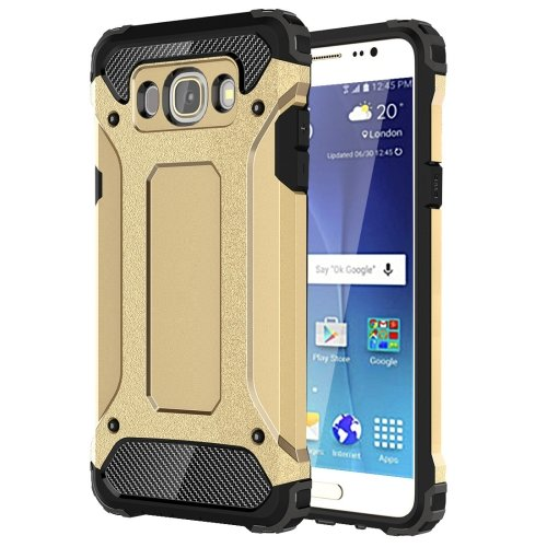 For Galaxy J7 (2016) Tough Armor TPU + PC Combination Case - # Colors