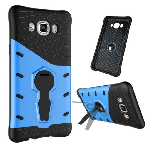 For Galaxy J7 (2016) Tough Armor TPU+PC Combination Case with Holder - # Colors