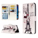 For Galaxy J7 (2016) Deer Flip Leather Case with 9 Card Slots, Wallet & Holder