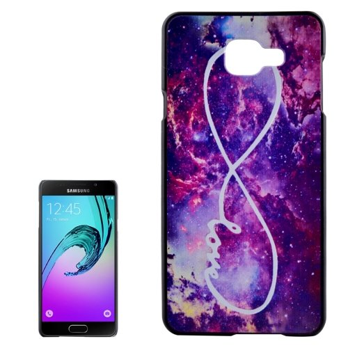 For Galaxy A3(2016) Nebula Pattern PC Protective Case